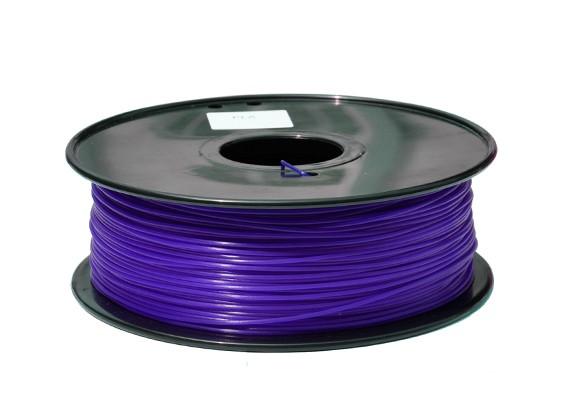 HobbyKing 3D Волокно Принтер 1.75mm PLA 1KG золотника (Темно-фиолетовый)