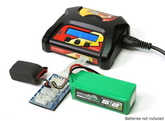 Turnigy P606 LiPoly / LiFe AC / DC зарядное устройство (США Plug)