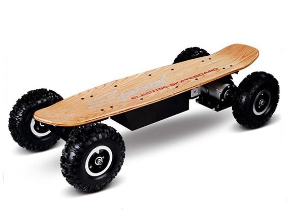 All-Terrain Электрический скейтборд ж / Система радио (Wood Finish) (Великобритания Plug)