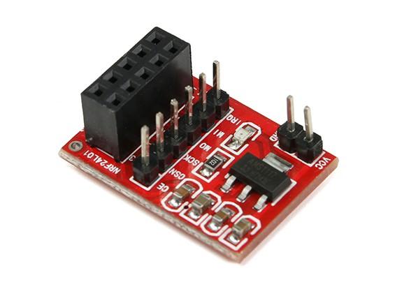 Совет NRF24L01 2,4 ГГц Приемопередатчик оправа адаптер