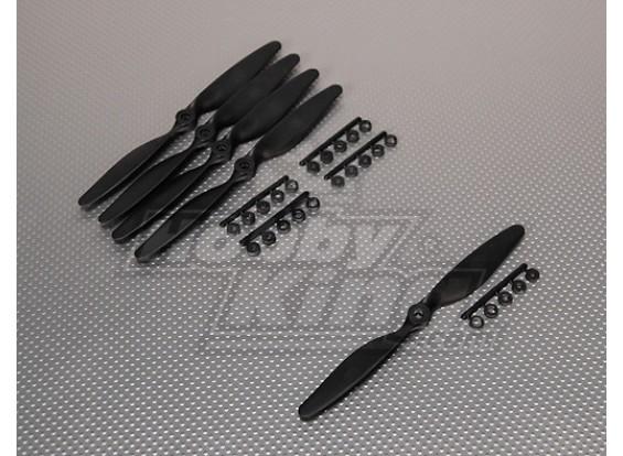 GWS Стиль Slowfly Пропеллер 7x5 черный (КОО) (5шт)