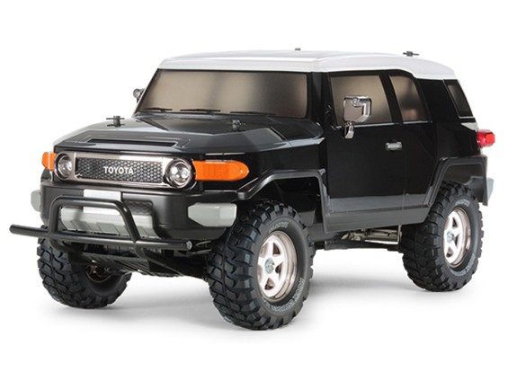 Tamiya 1/10 Масштаб Toyota FJ Cruiser Black Special Edition (CC-01 Шасси) 58620