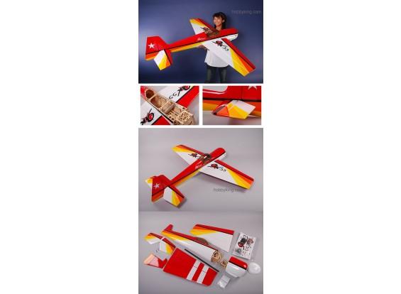 YAK55 .50e 3D ARF 98% (RED)