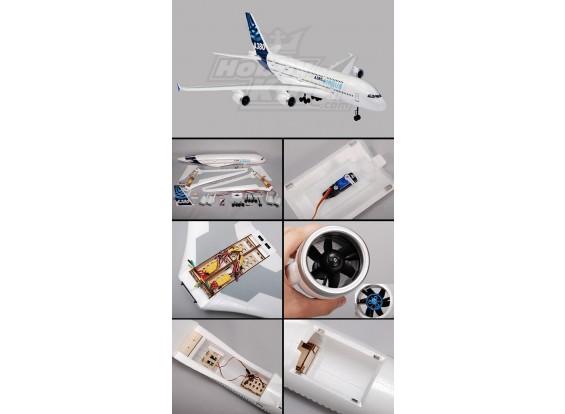 A380 Airbus R / C Самолет EPO Plug-N-Fly