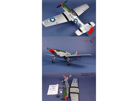 P-51D Mustang RTF ж / БПТ системы