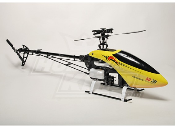 AHF-50 .50 Размер Nitro 3D Вертолет Kit