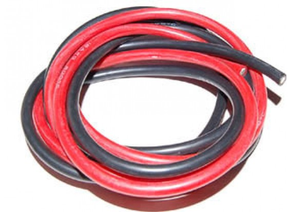 Кремний провода 20AWG Super Soft (1mtr) <b>RED</b>
