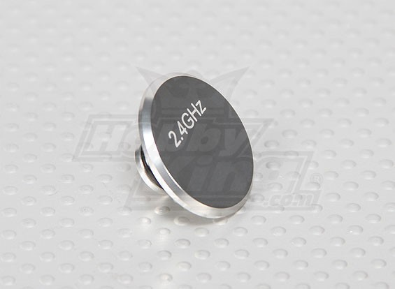 CNC антенны Отверстие Cap V1 Silver