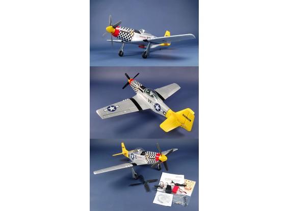 Art Tech P-51D Mustang RTF ж / бесщеточного системы