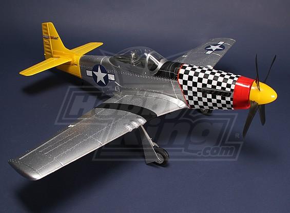 Хобби King P-51D Mustang Plug-N-Fly
