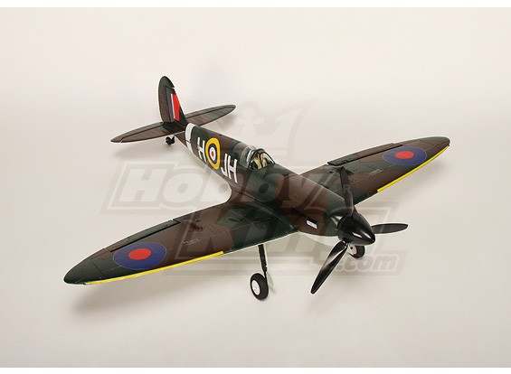 HobbyKing Spitfire ж / безщеточный и ESC Plug-N-Fly