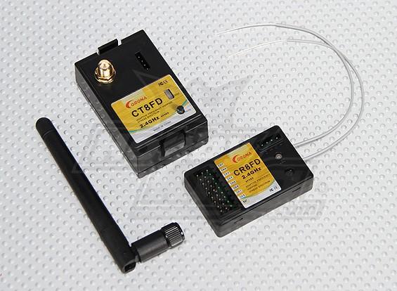 Корона 2.4GHz Futaba модуль и RX с Telelmetry (AFHSS)
