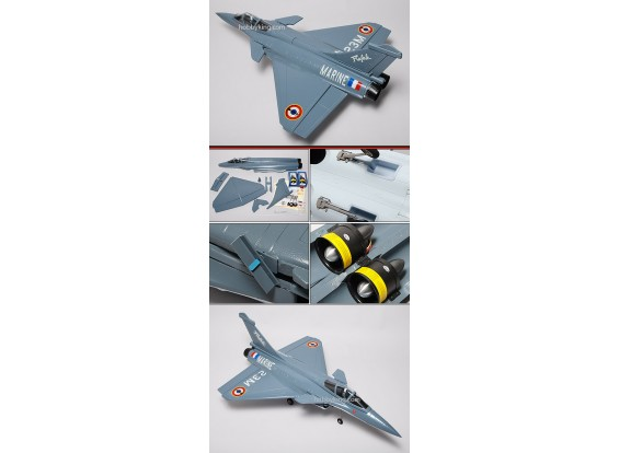 Dassault Rafale Твин EDF Jet EPO