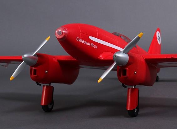 Durafly ™ DH-88 Comet 1120mm ж / втягивается и фонари (ПНФ)