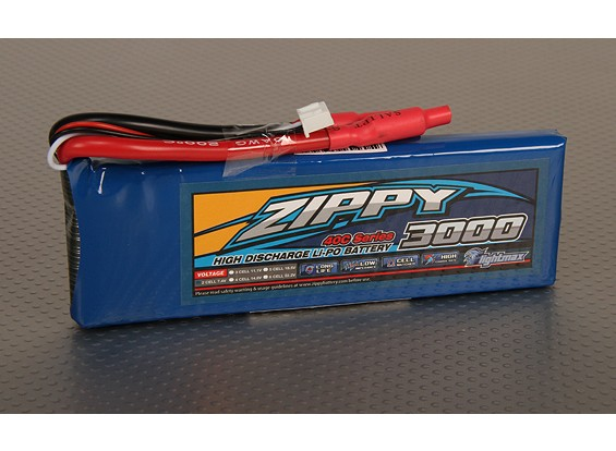 ZIPPY Flightmax 3000mAh 2S1P 40C