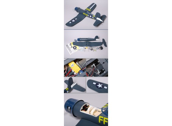 F4U Cousair 95% в формате RTF ж / двигателя и ESC