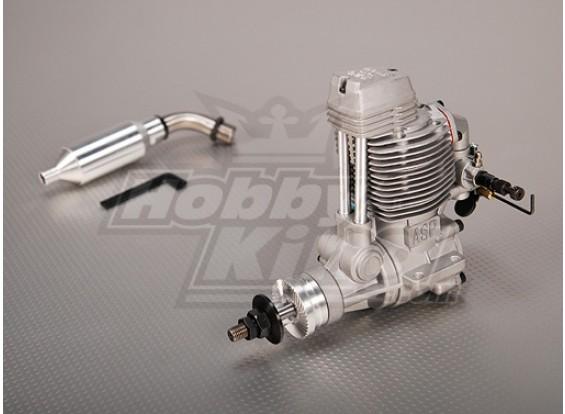 ASP FS120AR Four Stroke Glow двигателя