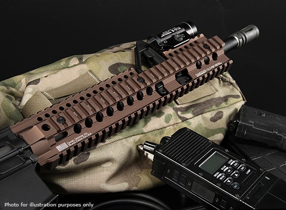 MadBull Daniel Defense Лицензированный 7 дюймов OmegaX Rail FSP (черный)