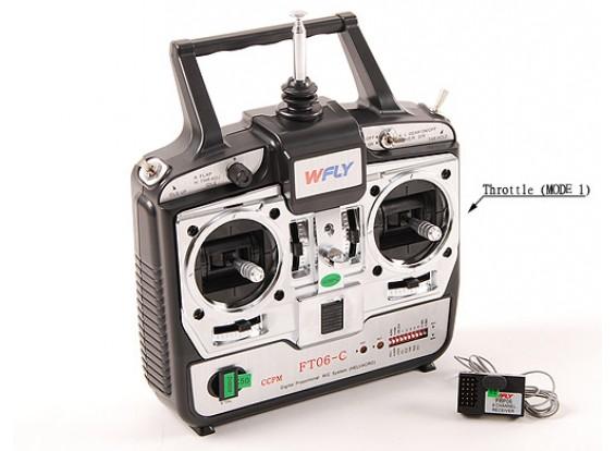 Система WFLY 6Ch полета (Mode1 40МГц)