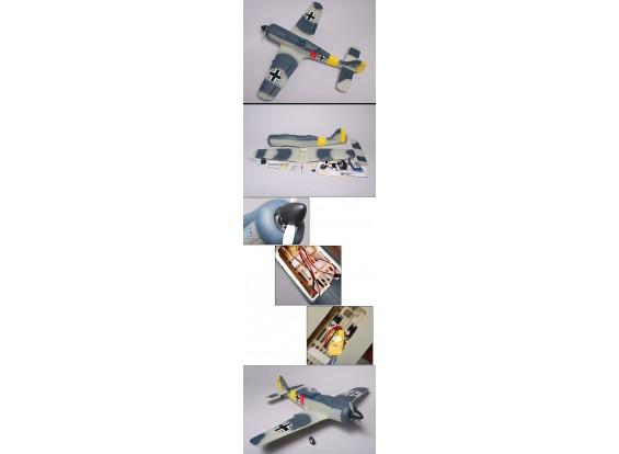 FW-190 95% RTF ж / бесщеточный двигатель и ESC