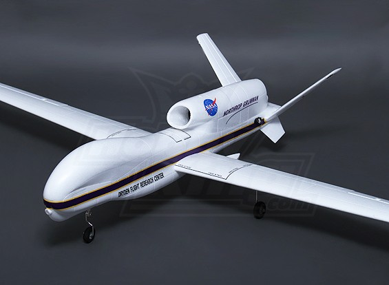 Hobbyking RQ-4B Global Hawk 64mm EDF 2360MM (ПНФ)