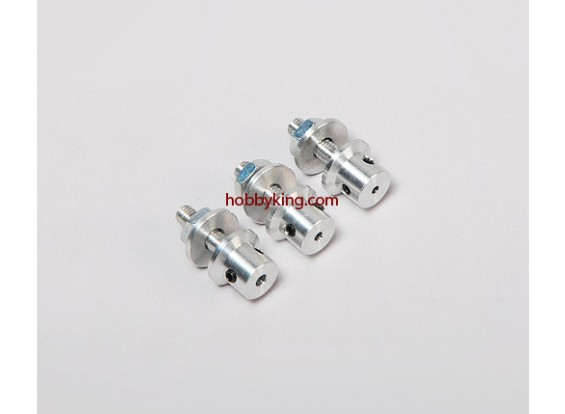 Опора адаптер ж / сталь Гайка 3 / 16x32-3mm вал (Grub Тип винта)