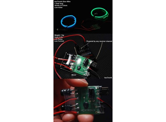 hexTronik Lumifly 2-портовый Glow-драйвер
