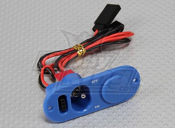 Heavy Duty RX коммутатор с портом Charge & Fuel Dot синий