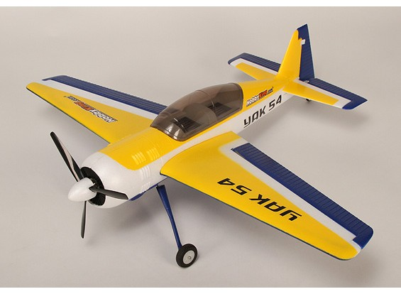 HobbyKing ЯК 54 Бесщеточный EPO Plug-N-Fly
