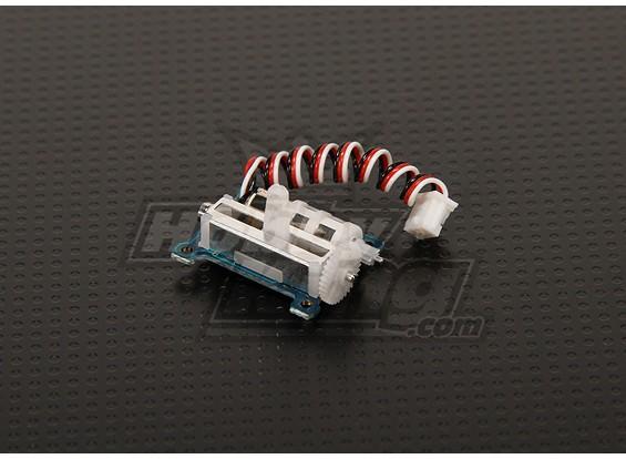 Hobbyking Ультра Micro Servo 1,7 г для полета 3D (слева)