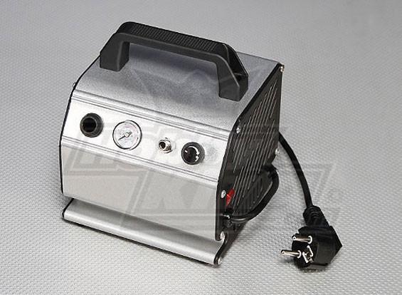 Воздушный компрессор с регулируемым давлением и манометром