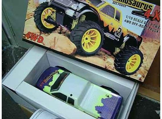 HSP 1/10 Шкала Nitro Monster Truck RTR