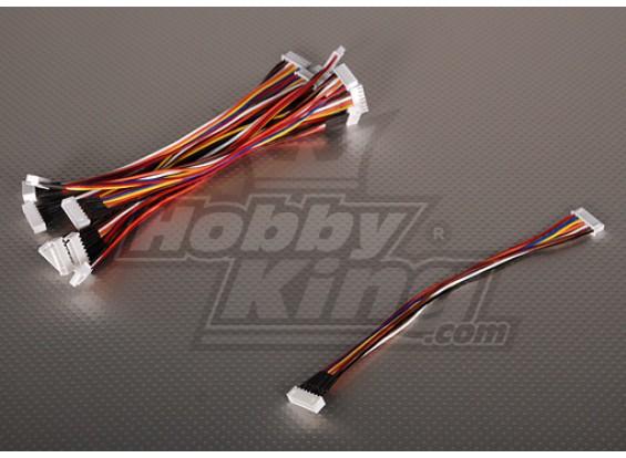 JST-XH провода расширения 6S 20см (10шт / мешок)