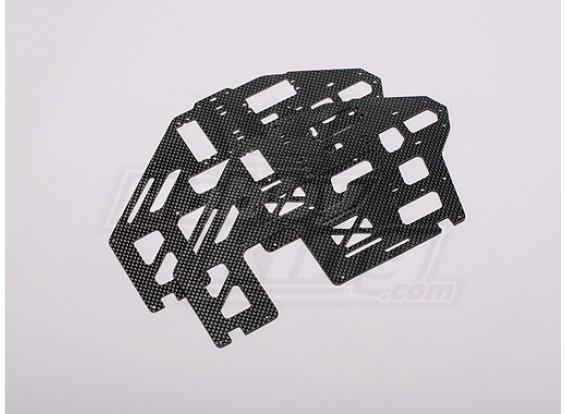 HK-500GT углеродного волокна основной рамы (Align часть # H50027)