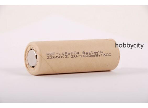 LiFePo4 1600mAh 3.2V 20C Cell