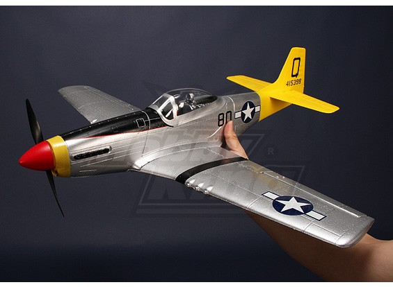 Хобби King Mini P-51D Mustang Parkflyer Plug-N-Fly