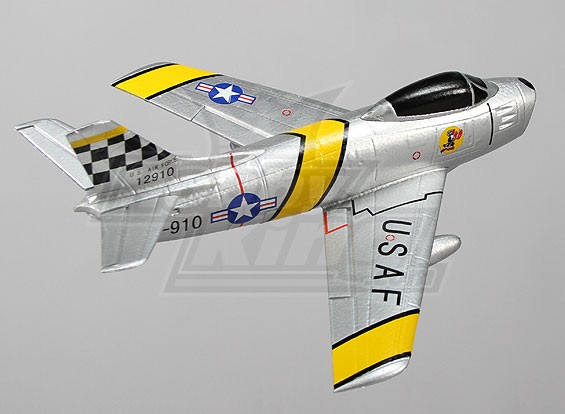 F86 Sabre 35mm EDF Micro Jet EPO (АРФ)