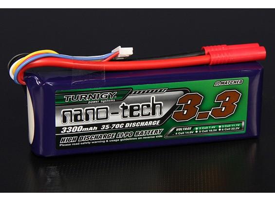 Turnigy нано-технологий 3300mAh 4S 35 ~ 70C Lipo обновления