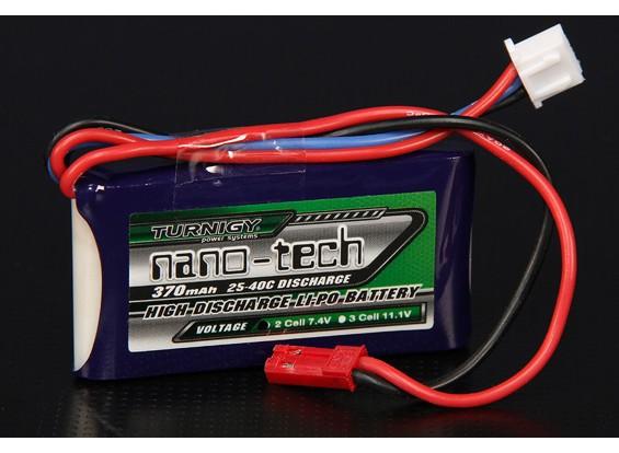 Turnigy нано-технологий 370mah 2S 25 ~ 40C Lipo обновления