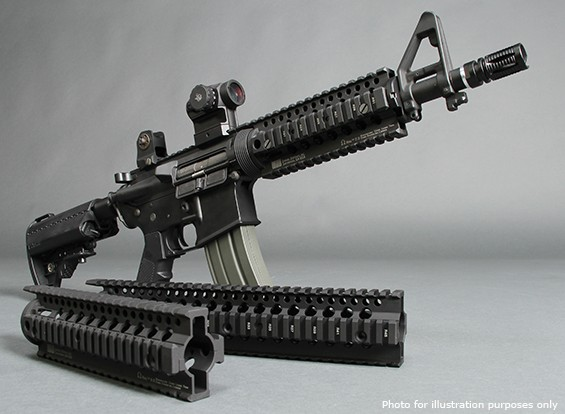 MadBull Daniel Defense 9 дюймов Omega Rail (Dark Earth)