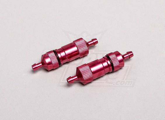 Большой Диаметр цилиндра / емкости Газовые фильтры (красный) (2 шт / мешок)