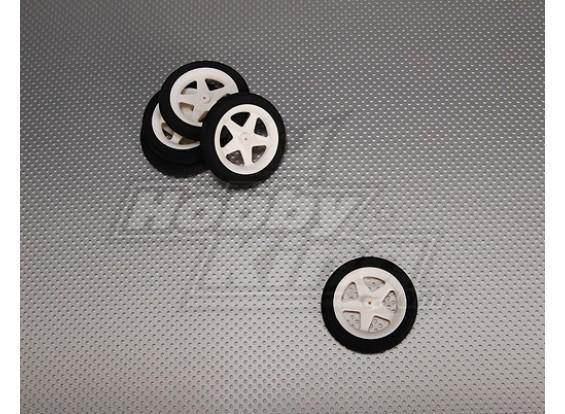Свет пены колеса диам: 60, ширина: 10 мм (5 шт / мешок)