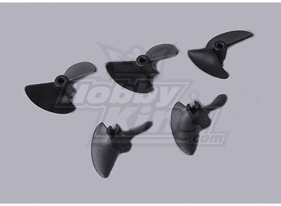 2-Blade Boat пропеллеры 40x35mm (5pcs / мешок)