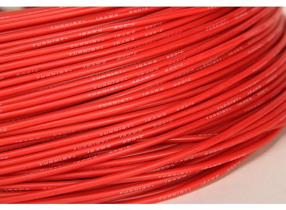 Turnigy Pure-силиконовый провод 18AWG 1m (красный)