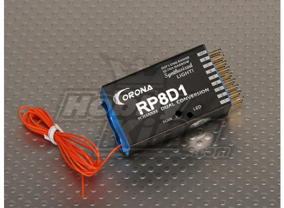 Corona синтезатором Dual-конв приемник 9CH 40Mhz