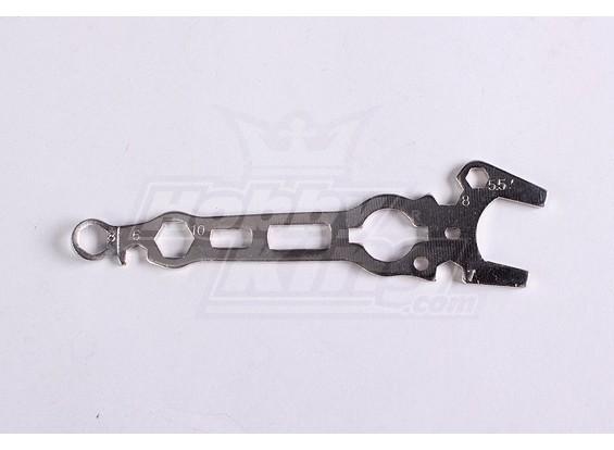 Многофункциональный инструмент гаечный ключ Baja 260 и 260S
