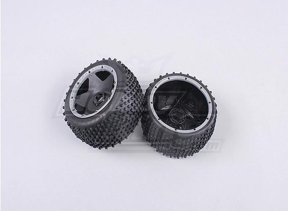 RS260-85023-2 Задняя внедорожных колеса установлены с сверхпрочной beadlock кольцом (1Pair / мешок)