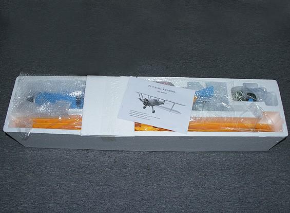 СКРЕСТ / СТОМАТОЛОГИЯ Hobbyking Stearman PT-17 биплан EPO 1200мм (ПНФ)