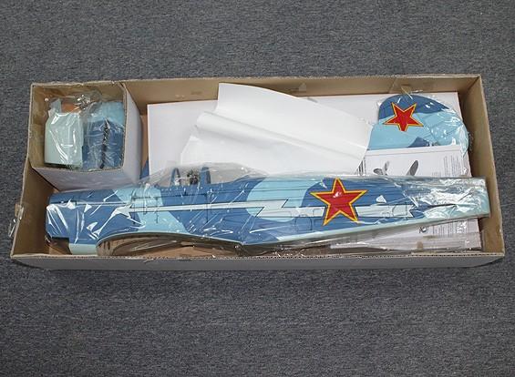 СКРЕСТ / СТОМАТОЛОГИЯ - Як-9 русский истребитель Бало GP / EP 1520mm (ARF)