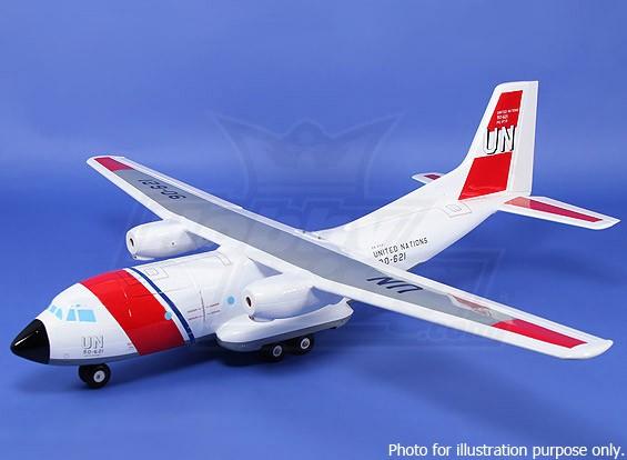СКРЕСТ / СТОМАТОЛОГИЯ - Transall C-160 Composite 1450mm (ARF - белый) (Великобритания Склад)
